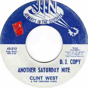 Clint West & The Fabulous Kings - Another Saturday Night / Here Comes My Baby download free
