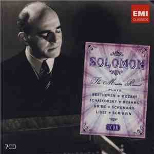Solomon  - The Master Pianist Plays Beethoven  Mozart  Tchaikovsky  Brahms  Grieg  Schumann  Liszt  Scriabin download free